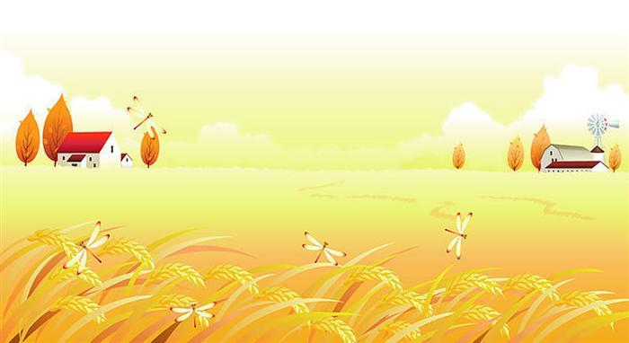 指导教师:郭萍 我听见秋天咯咯的笑声了! 秋天笑着来到了田野里。听,到处都是丰收的乐曲。玉米晃着胖嘟嘟的肚子,大笑着唱着《丰收谣》,颤得胡须都掉了下来,自己还不知道。大豆一看它的样子,忍不住了,笑得忘乎所以,叭的一声,笑破了肚皮。棉花一看,一听,哎呀,吓了一跳,啪,紧抿的嘴咧开了,雪白的棉絮露了出来,在阳光下那么耀眼!  秋天笑着来到了果园里。听,到处都是丰收的歌声。绿的、黄的、红的苹果在枝头你挤我,我拥你,脸挨着脸儿把秋赞。忽然,一阵风儿经过,叶儿随即鼓起掌来,苹果妹妹们满足地在枝头荡漾。 秋天笑